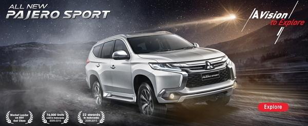 Empat Warna Mitsubishi Pajero Exceed