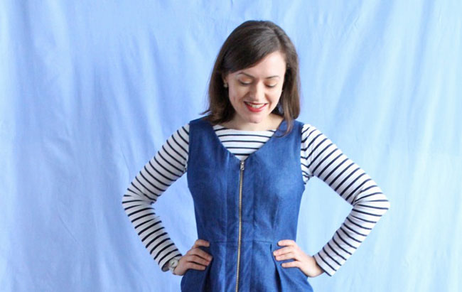 Denim YoYo Dress - Tilly and the Buttons