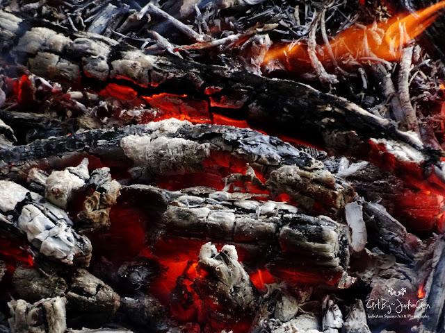 Smoldering Fire Photo