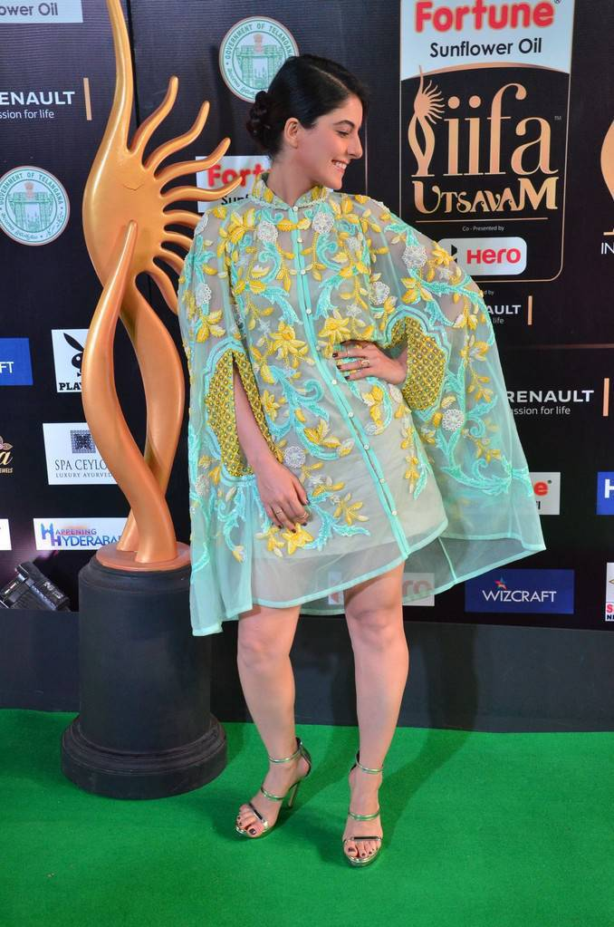 Actress Isha Talwar Images At IIFA Utsavam Awards 2017