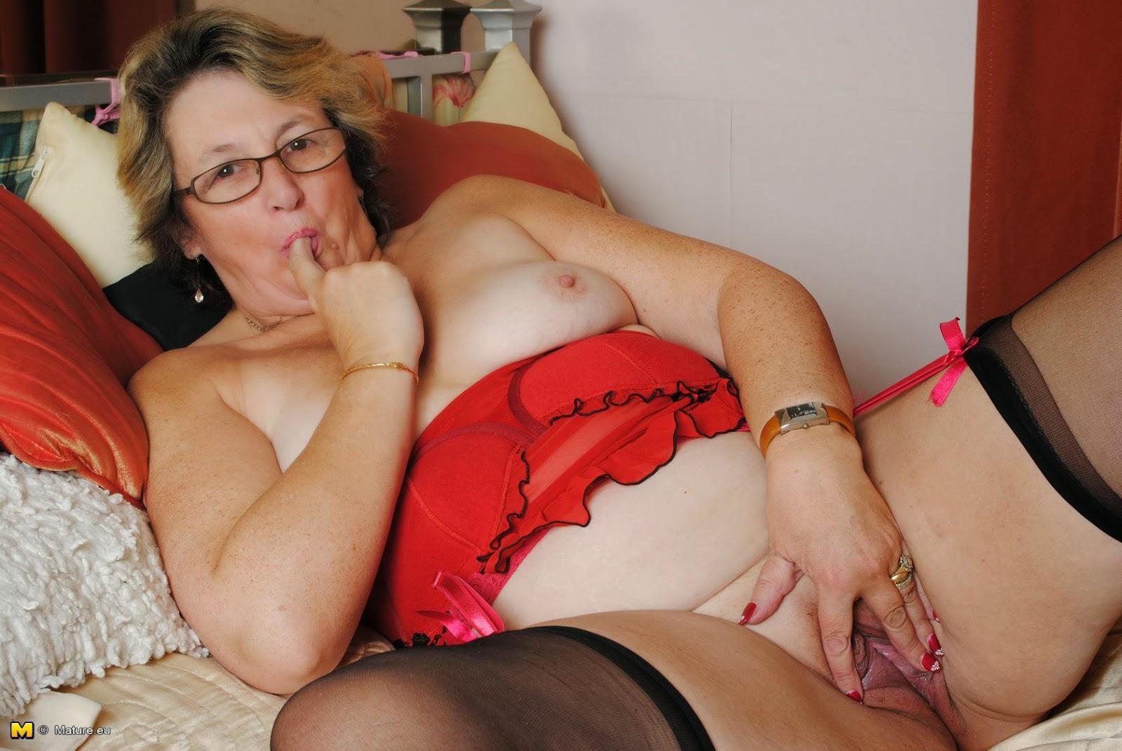 Bbw granny lingerie