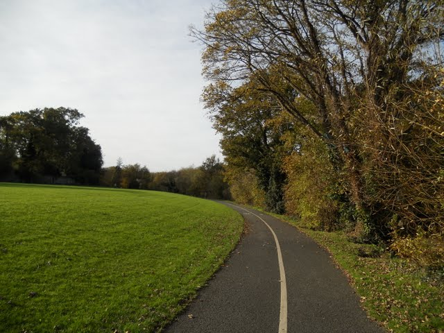 Walk the River Dodder in Dublin - Dodder Path