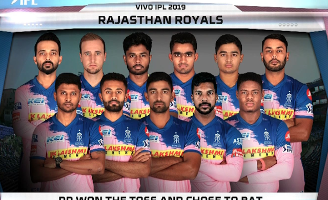 DC vs RR Live Streaming Online free, Rajasthan opt to bat