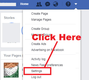 how to change name on your facebook account