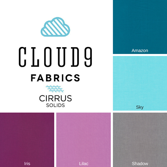 Cloud9 Fabrics, Cirrus Solids, Thistle Thicket Studio, new block blog hop, free quilt block patterns