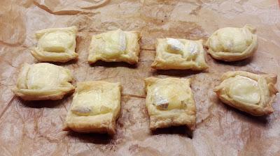 Toast uit de oven met brie
