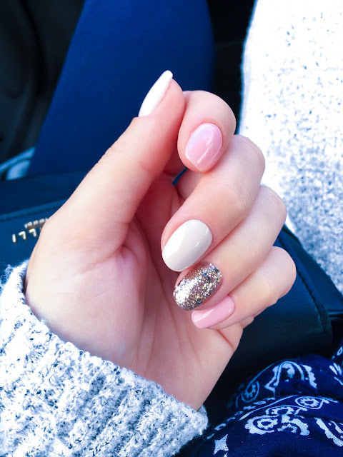 idealny hybrydowy manicure na wesele