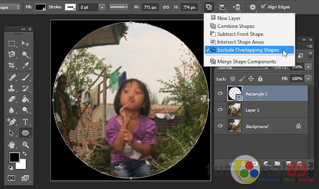 Cara mudah membuat efek fisheye dengan photoshop