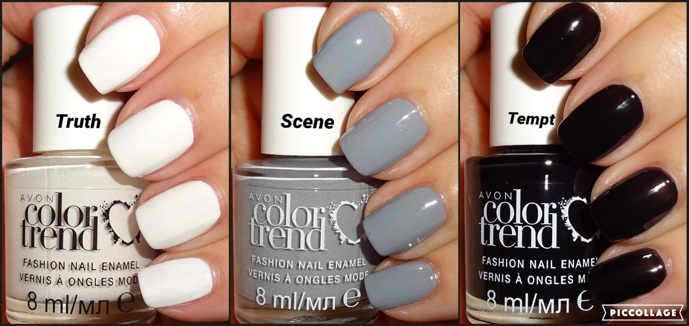 Wendy\'s Delights: Avon Color Trend Nail Enamels - Tempt, Truth & Scene