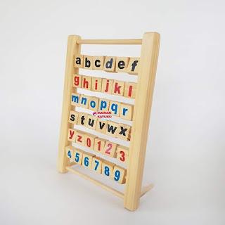 Balok Baca Alfabet
