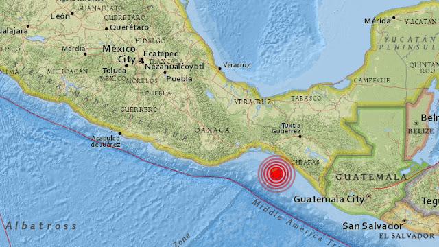 Un terremoto de magnitud 5,8 sacude México