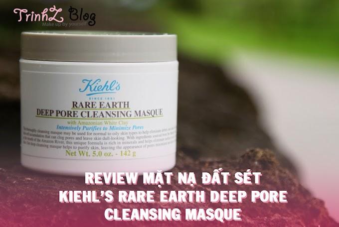 [REVIEW] Mặt nạ đất sét Kiehl's Rare Earth Deep Pore Cleansing Masque, đắt có sắt ra miếng ?