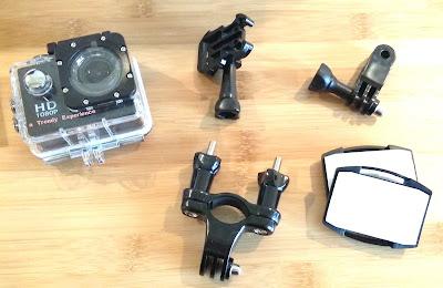 Action Camera Sport 12MP con accessori