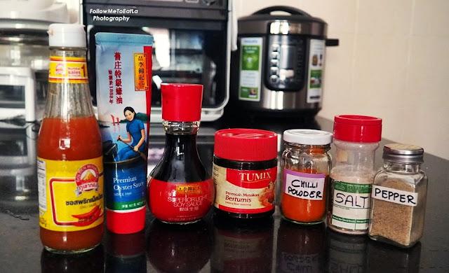 Ingredients To Marinate