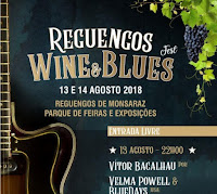 REGUENGOS DE MONSARAZ:  VINHO E BLUES FESTA
