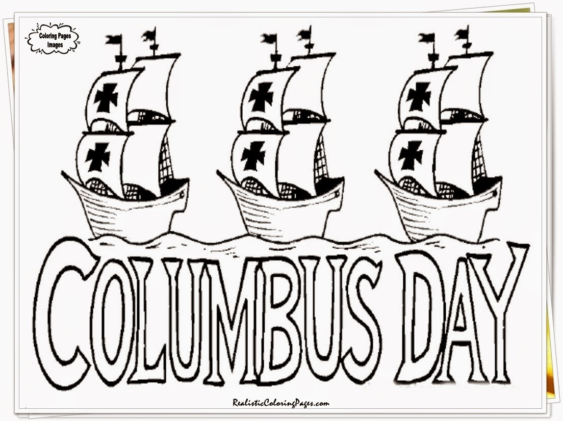 christopher columbus day coloring sheets