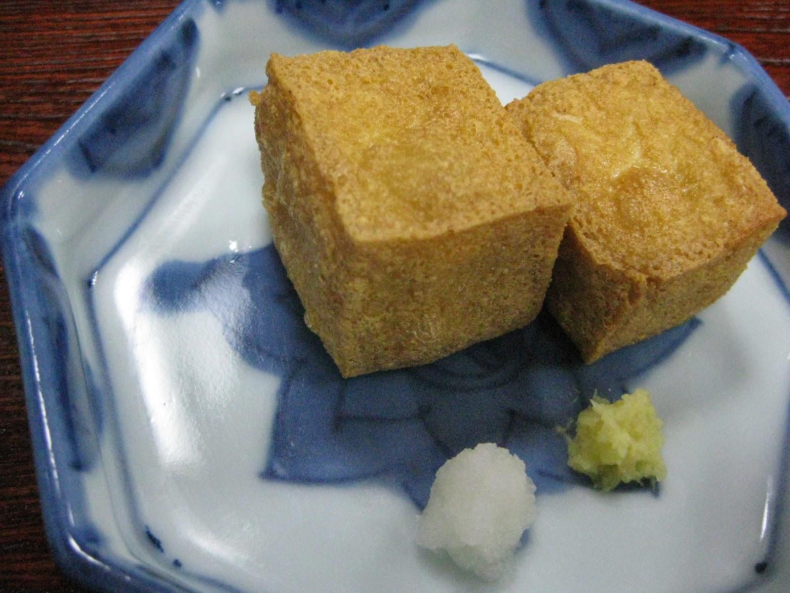 Tokyo - Tofu lunch course #5 - fried tofu