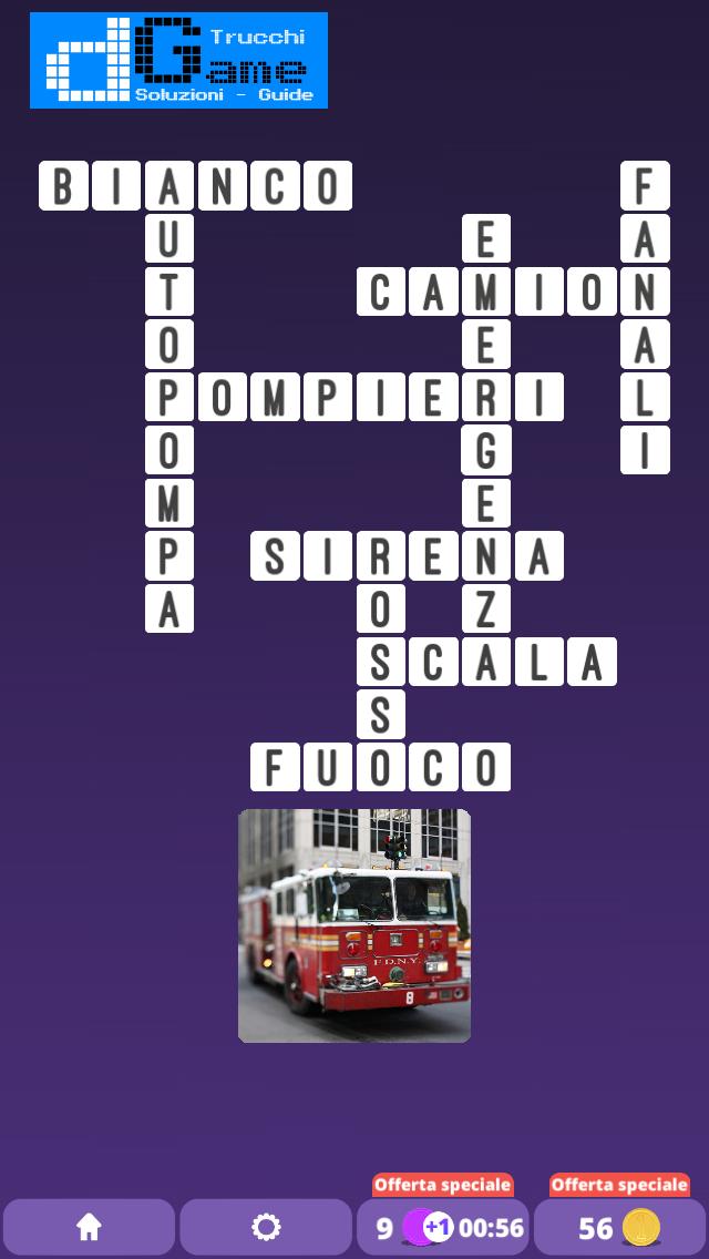 Soluzioni One Clue Crossword livello 5 schemi 6 (Cruciverba illustrato)  | Parole e foto