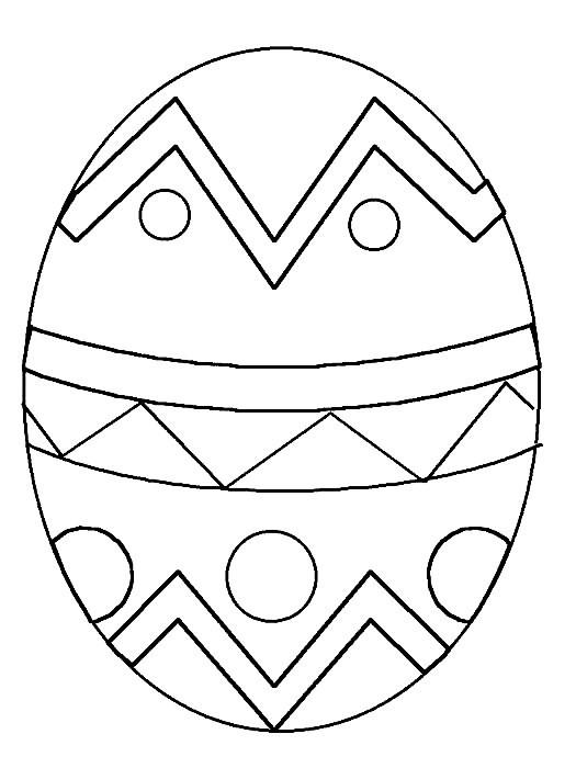 Desenhos Da Pascoa Para Colorir Online24