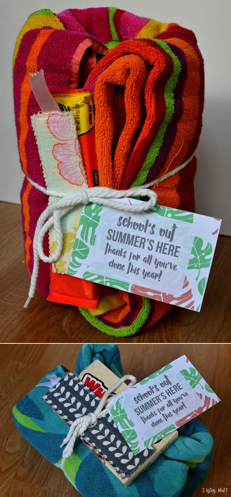Summers out thank you end of year teacher gift