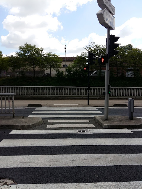 Przejście dla pieszych we Francji