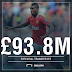 The biggest 2016 summer transfers The £243.8m Pogba mega deal