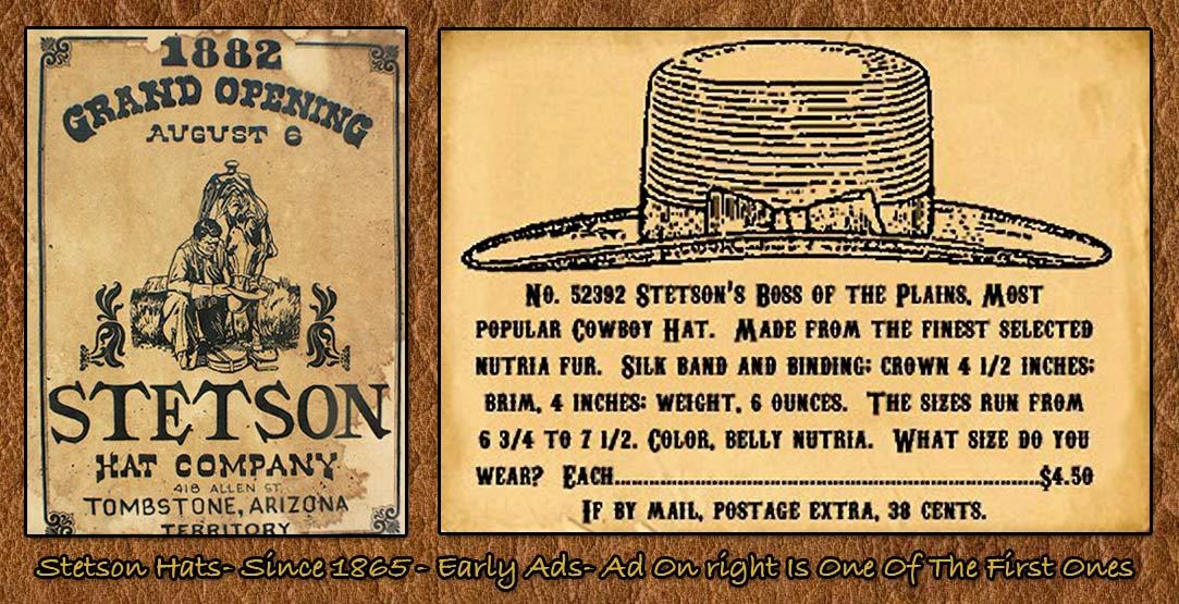 The American Cowboy Chronicles  John B. Stetson -- His Legacy 5de63b717210