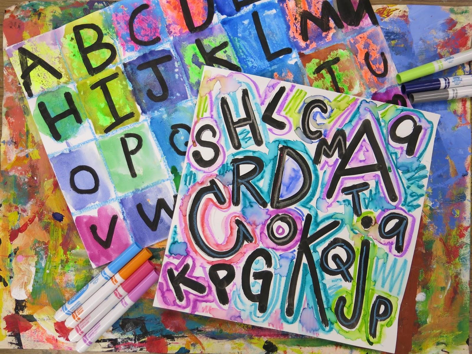 Cassie Stephens: In the Art Room: Kindergarten Chicka Chicka Boom ...
