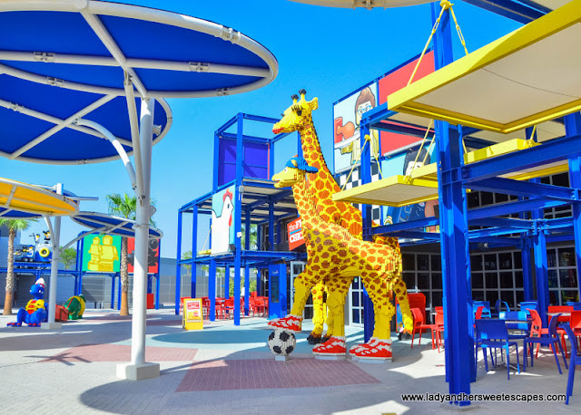imagination zone in Legoland Dubai