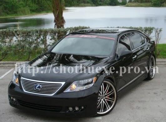 Cho thuê xe VIP Lexus LS600 tại Hà Nội 1