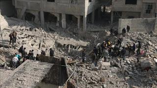 White Helmets: 200 Lebih Warga Sipil Ghouta Timur Dibantai Rezim Assad