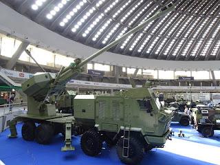 Howitzer Swagerak Aleksandar 155mm/kaliber 52