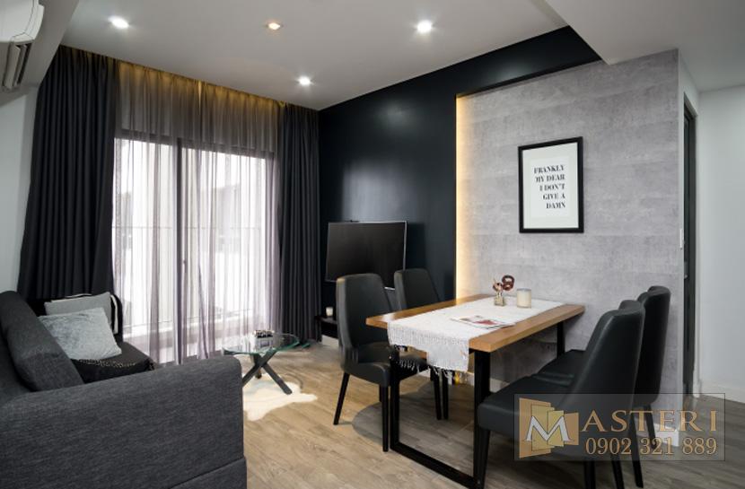 cho thuê căn hộ Masteri Thảo Điền - Sofa tại ban công