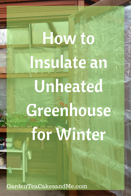how to insulate greenhouse for winter