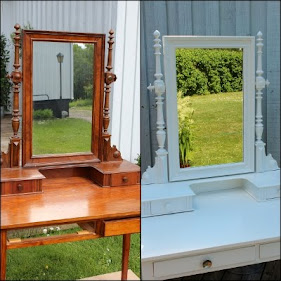 Make up mirror table