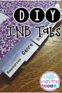How to make your own tabs for your interactive notebooks and how to laminate them