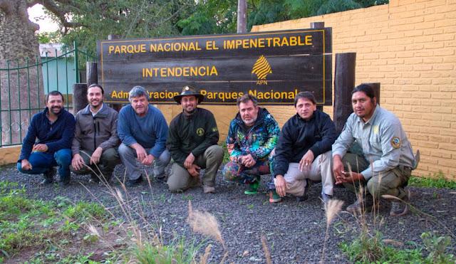 Milo Lockett en el Parque Nacional El Impenetrable
