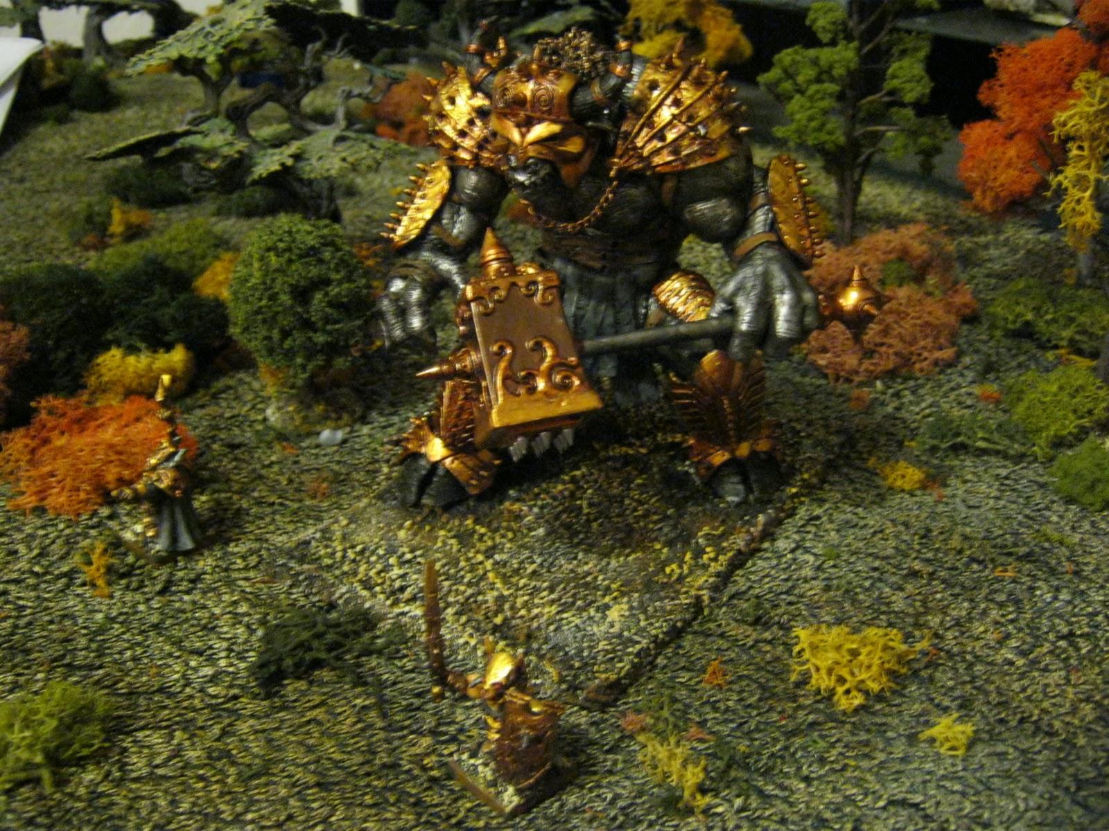 The Last Chance War: My Chaos Dwarf K'Daai Destroyer