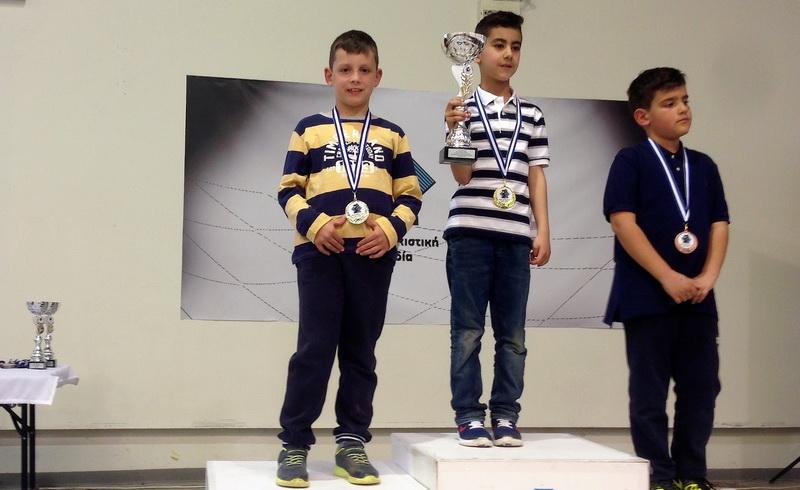 Ασημένιο μετάλλιο ο Γιώργος Γκόγκολας στο Πανελλήνιο Σχολικό Πρωτάθλημα Σκάκι