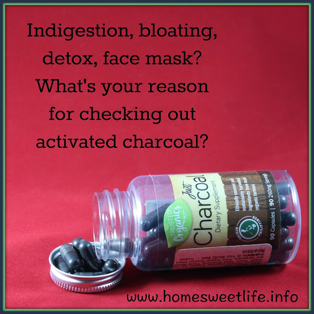 Just Charcoal, activated charcoal, detox, face mask
