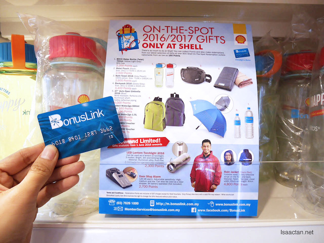 On The Spot 2016/2017 Gifts From Shell