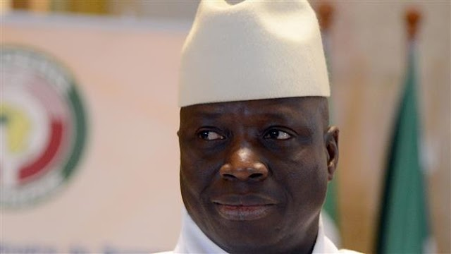 African Union will stop recognizing Yahya Jammeh as Gambia's leader