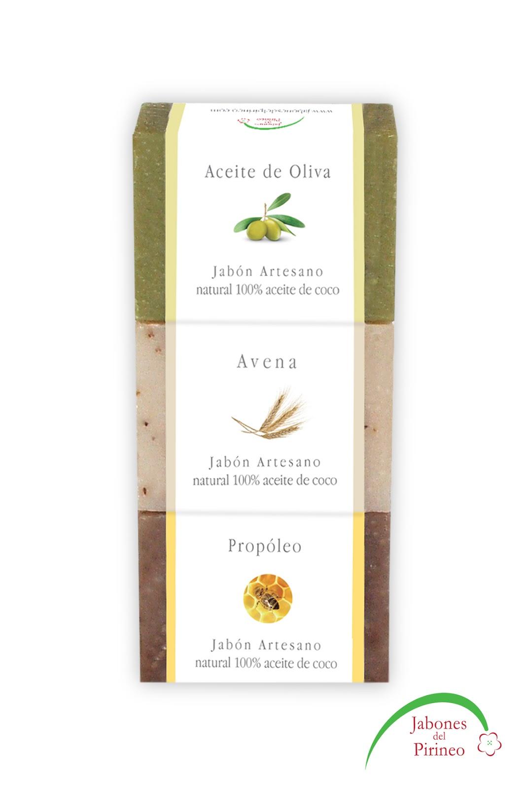 Jabones de Aceite de Oliva, Avena y Propóleo