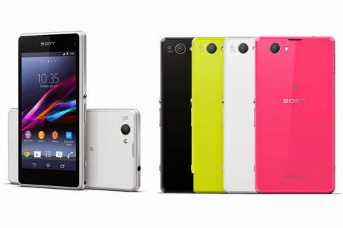 Sony Xperia Z1 Compact, OS Android Terbaru Sony