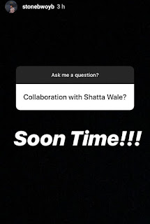 Stonebwoy set to feature shatta wale soon