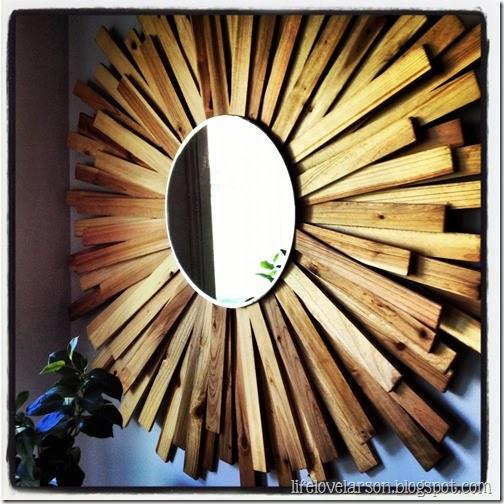 Room Candy Fast Amp Fab Friday Diy Sunburst Mirrors