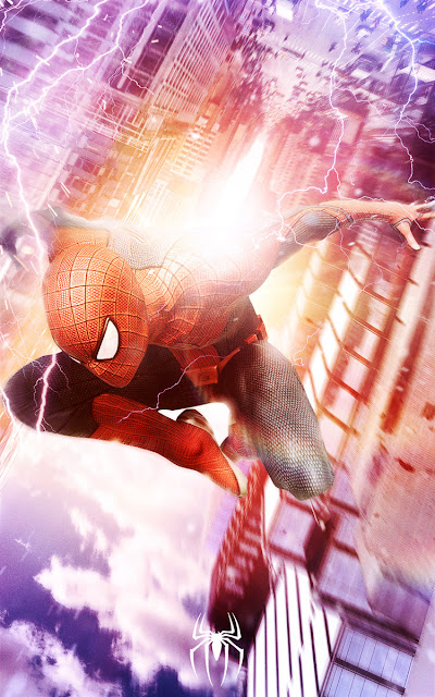 THE AMAZING SPIDER-MAN 2: POSTER FAN MADE