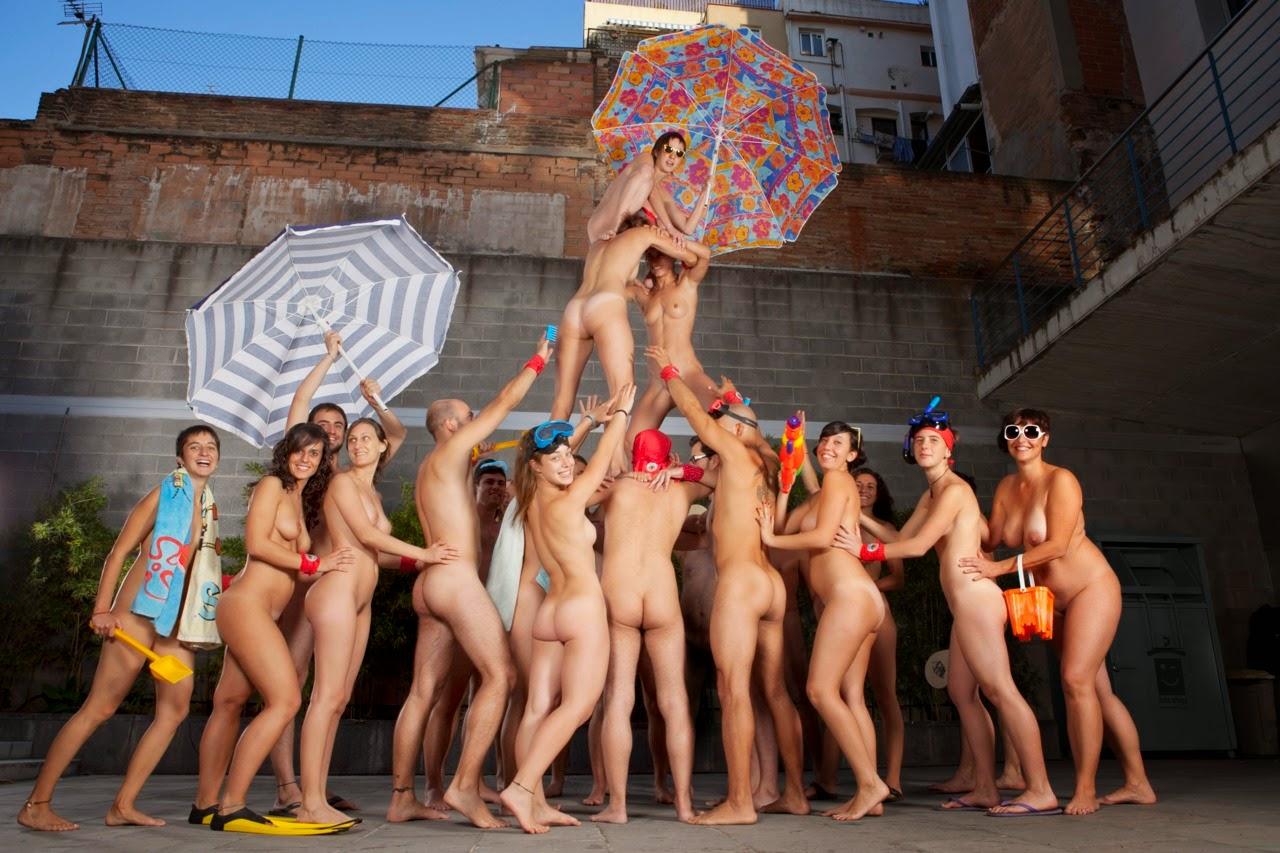 European nudist calendar, megan summers masturbates