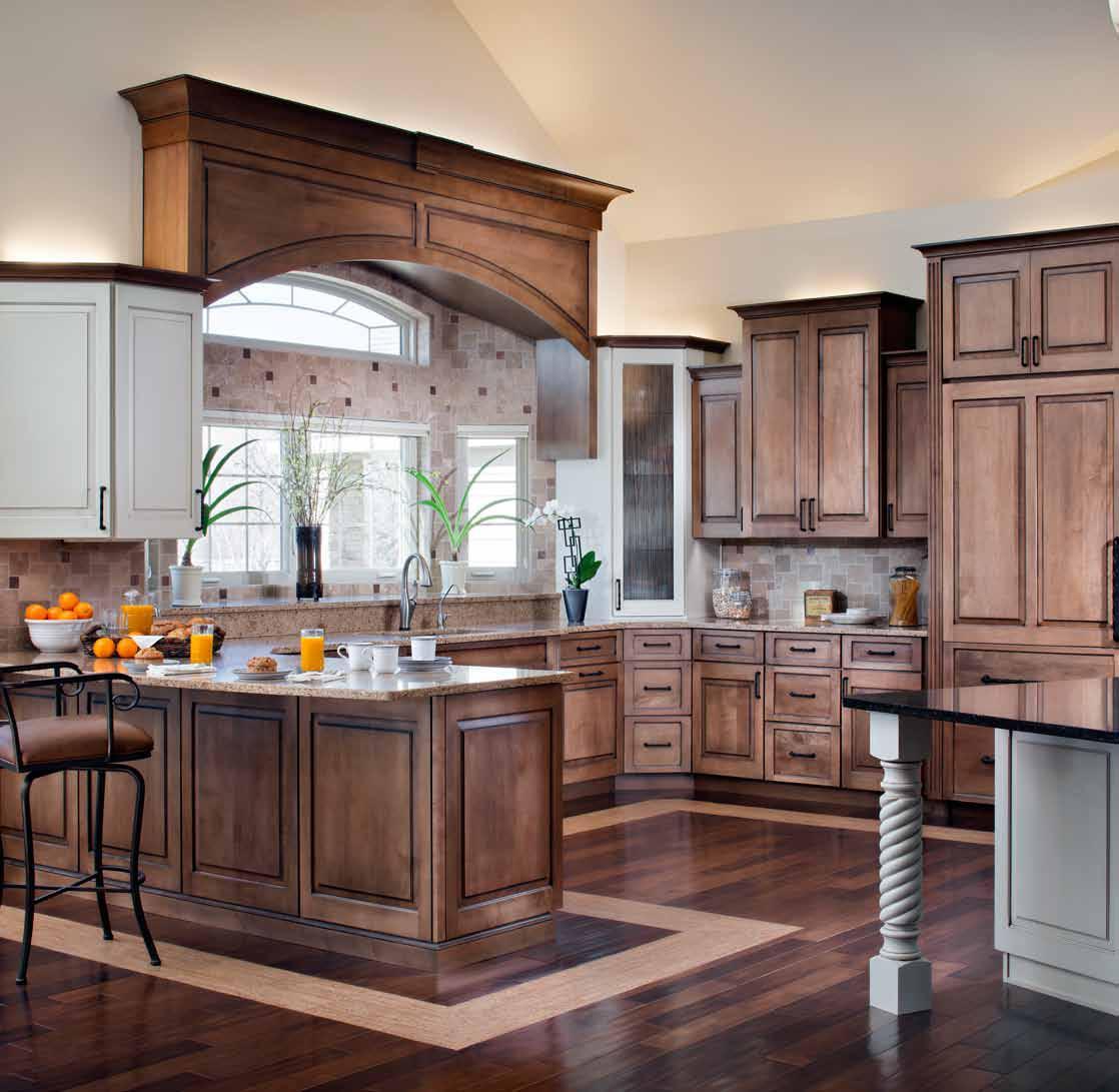 Custom Cabinetry, Countertops, Flooring