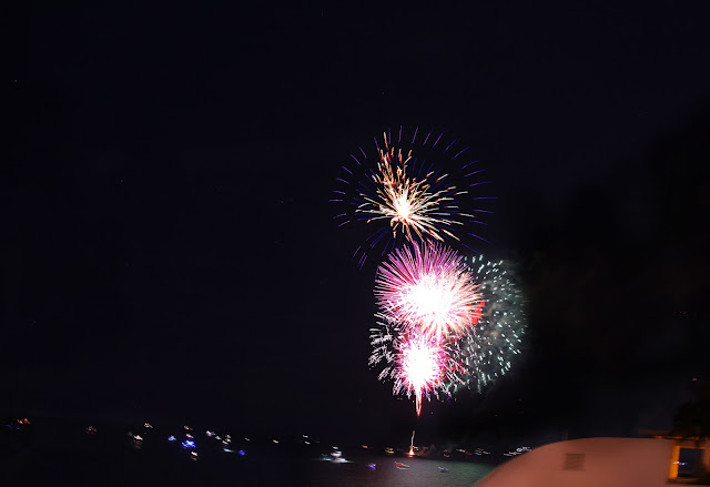 fireworks in Fort Lauderdale, FL
